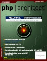 Tài liệu Artificial Intelligence made easy with PHP and FANN ppt