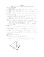 Tài liệu Bài tập hình học không gian có lời giải ppt