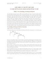 Tài liệu Giới thiệu lý thuyết trò chơi và một số ứng dụng trong kinh tế học vi mô( phần 2: Trò chơi động với thông tin đầy đủ) pdf