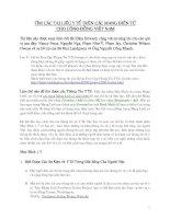 Tài liệu TÌM CÁC TÀI LIỆU Y TẾ TRÊN CÁC MẠNG ĐIỆN TỬ CHO CỘNG ĐỒNG VIỆT NAM ppt