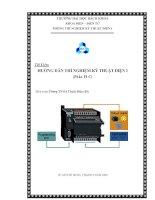 Tài liệu Hướng dẫn thí nghiệm kỹ thuật điện (phần PLC) pptx