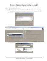 Tài liệu Hướng dẫn-Bảo mật win2003-phan 4- SSL-IPSec pptx