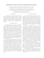 Tài liệu Addressing the needs of complex mems design doc