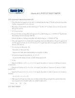 Tài liệu Chuyên đề 2: Vật lý hạt nhân doc