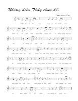 Tài liệu Bài hát những điều thầy chưa kể - Trần Thanh Sơn (lời bài hát có nốt) pdf