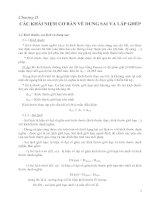 Tài liệu CHƯƠNG 2: CÁC KHÁI NIỆM CƠ BẢN VỀ DUNG SAI VÀ LẮP GHÉP doc