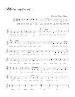 Tài liệu Bài hát mùa xuân ơi - Nguyễn Ngọc Thiện (lời bài hát có nốt) docx