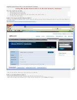 01  hướng dẫn cài đặt VMware ESXi 5 và cấu hình network, hostname