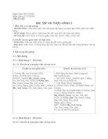 Tài liệu Giáo án bài tập và thực hành 5 - Tin học 12 docx
