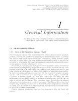 Tài liệu Lọc Kalman - lý thuyết và thực hành bằng cách sử dụng MATLAB (P1) pdf