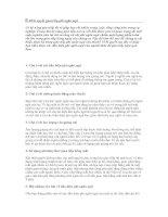 Tài liệu 10 bí quyết giao tiếp phi ngôn ngữ pdf