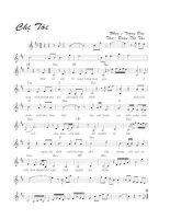 Tài liệu Bài hát chị tôi - Trọng Đài (lời bài hát có nốt) docx