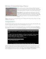 Tài liệu Khắc phục lỗi không thể khởi động ở Windows doc