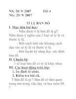 Tài liệu Địa lý lớp 6 bài 3 doc