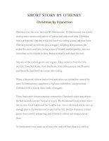 Tài liệu LUYỆN ĐỌC TIẾNG ANH QUA TÁC PHẨM VĂN HỌC-SHORT STORY BY O'HENRY Christmas By Injunction ppt