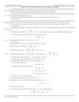 Tài liệu Tóm tắt lý thuyết: Động lực học vật rắn ppt