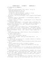 Tài liệu Lý thuyết và bài tập ôn thi CĐ ĐH môn Hóa - Chương 9 docx