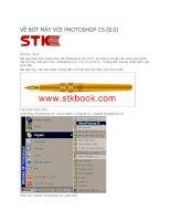 Tài liệu Vẽ bút máy với Photoshop SC 8.0 docx