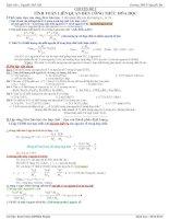 Chuyên đề Bồi dưỡng học sinh giỏi hóa 8