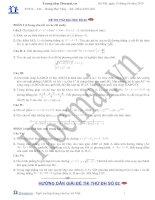 Tài liệu Đề và đáp án thi thử đại học môn Toán 2010_số 02 doc