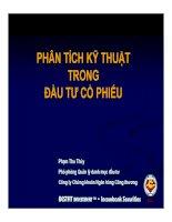 Tài liệu PHÂN TÍCH KỸ THUẬT TRONG ĐẦU TƯ CỔ PHIẾU pptx