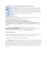 Tài liệu RegToy 0.7.2.1 bộ công cụ cần thiết cho hệ thống ppt