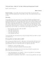Tài liệu Triển khai Vista – Phần 25: Tìm hiểu về Microsoft Deployment Toolkit doc