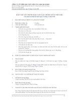 Tài liệu CTy Thủy Sản An Giang - Thuyết minh báo cáo tài chính quý 4 năm 2008 pdf