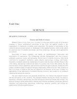 Tài liệu English for students of Physics_Unit 1 doc