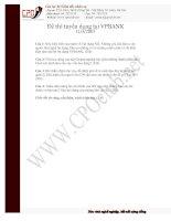 Tài liệu Đề thi tuyển nhân viên tín dụng docx
