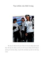 Tài liệu Nạn nhân của thời trang pdf
