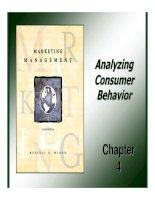 Tài liệu Giáo trình: Marketing Management_ Chapter 04 ppt