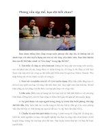 Tài liệu Phỏng vấn tập thể, bạn đã biết chưa? pdf