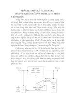 Tài liệu Thiết kế và thi công mạch quang báo dùng EPROM, chương 9 pdf