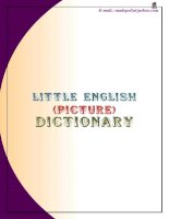 Tài liệu English with photos and words - Little Picture Dictionary docx