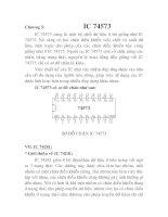 Tài liệu Thiết kế và thi công mạch quang báo dùng EPROM, chương 5 doc
