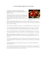 Tài liệu chế độ dinh dưỡng tốt cho sức khoẻ pdf