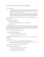 Tài liệu Chuyển đổi áp dụng các phương pháp tính thuế GTGT doc