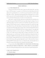 THỰC TRẠNG và GIẢI PHÁP HOẠT ĐỘNG của NGÂN HÀNG THƯƠNG mại VIỆT NAM SAU KHI GIA NHẬP WTO