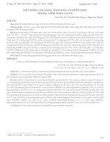Tài liệu ĐẶC ĐIỂM LÂM SÀNG, SINH HÓA, MIỄN DỊCH TRONG VIÊM THẬN LUPUS doc