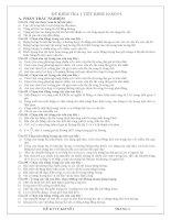 Tài liệu ĐỀ KIỂM TRA 1 TIẾT KHỐI 10 SỐ 1 tham khảo docx