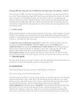 Tài liệu Hướng dẫn tạo máy chủ lưu trữ Web tại nhà bạn hoặc văn phòng - Phần II ppt