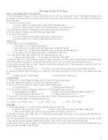 Tài liệu Bài tập về đại số tổ hợp: QUY TÁC CỘNG, QUY TẮC NHÂN ppt