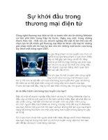 Tài liệu Sự khởi đầu trong thương mại điện tử (TMDT) pdf