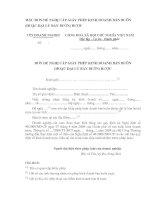 Tài liệu MẪU ĐƠN ĐỀ NGHỊ CẤP GIẤY PHÉP KINH DOANH BÁN BUÔN (HOẶC ĐẠI LÝ BÁN BUÔN) RƯỢU pptx