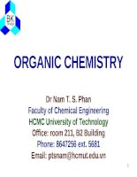 hóa hữu cơ ( organic chemistry )
