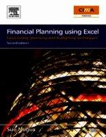 Tài liệu Financial planing using Excel pdf