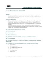 Tài liệu Lab 11.2.4 Protocol Inspector, TCP and HTTP doc