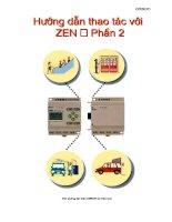 Tài liệu Hưỡng dẫn thao tác với Zen - Phần 1 ppt