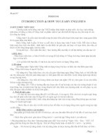 GIÁO ÁN TIẾNG ANH 6 - TRỌN BỘ - GV HUỲNH PHƯƠNG TẠO